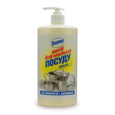 """Засіб для миття посуду DOMO """"Лимон"""""""