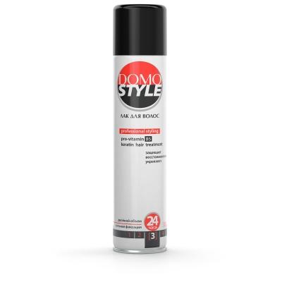 Domo Style 3 - лак для волосся, сильна фіксація