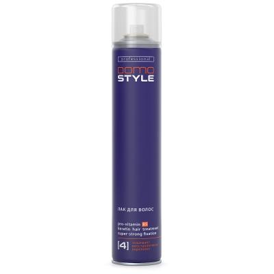 Domo Style 4 - лак для волосся, надміцна фіксація