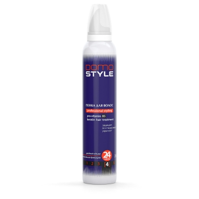 Domo Style 4 - пінка для волосся, надміцна фіксація