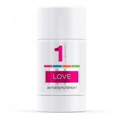 LECO Дезодорант-антиперспирант Love, 1 for women 75 мл (XL 10010)