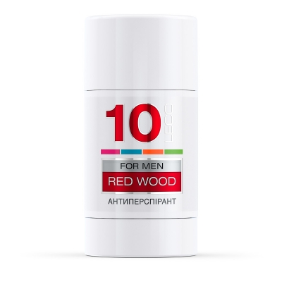 LECO Дезодорант-антиперспирант RED WOOD, 10 for men