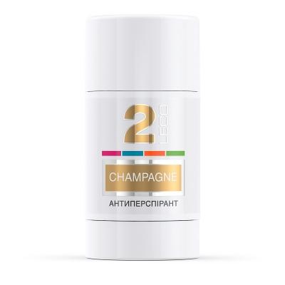 LECO Дезодорант-антиперспирант CHAMPAGNE, 2 for women
