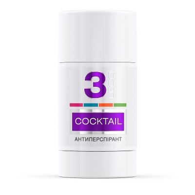 LECO Дезодорант-антиперспирант COCKTAIL, 3  for women