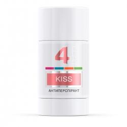 LECO Дезодорант-антиперспирант KISS, 4  for women 75 мл (XL 10013)