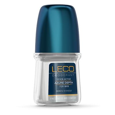 Дезодорант-антиперспірант LECO Seven Active Azure Depth for men