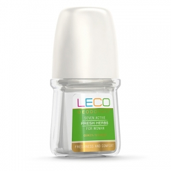 Дезодорант-антиперспірант LECO  Seven Active Fresh Herbs for women 50 мл (XL 10007)