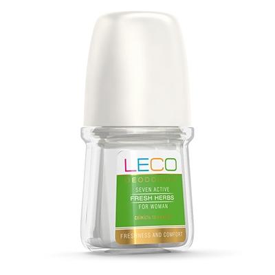 Дезодорант-антиперспірант LECO  Seven Active Fresh Herbs for women
