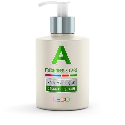 LECO Крем-мыло жидкое «A» «Свежесть и уход»