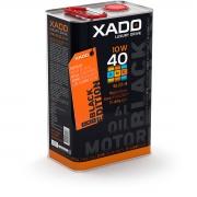 Полусинтетическое масло 10W-40 SL/CI-4 XADO LX AMC Black Edition