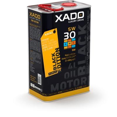 Синтетична олива 5W-30 SM/CF XADO LX AMC Black Edition