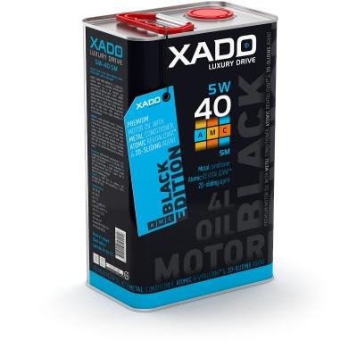 Моторна олива 5W-40 SM/CF XADO LX AMC Black Edition