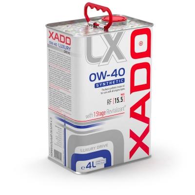 Синтетична олива 0W-40 SYNTHETIC XADO Luxury Drive