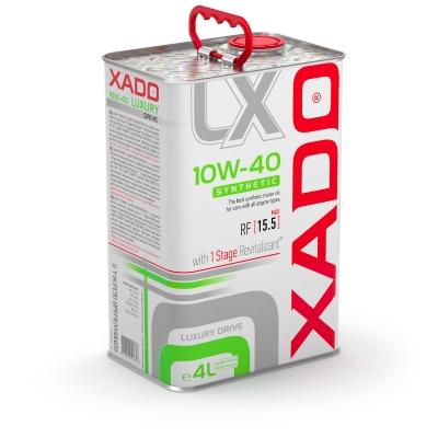 Синтетична олива 10W-40 SYNTHETIC XADO Luxury Drive