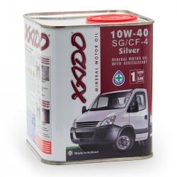 Минеральное масло 10W-40 SG/CF-4 Silver XADO Atomic Oil 1 л (XA 20123)