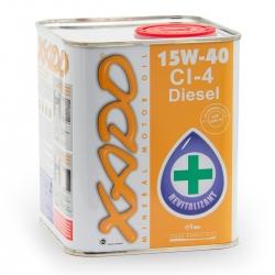 Минеральное масло 15W-40 CI-4 Diesel XADO Atomic Oil  1 л (XA 20114)