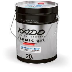 Мінеральна олива 15W-40 SJ/CG-4 Silver XADO Atomic Oil  20 л (XA 28530)