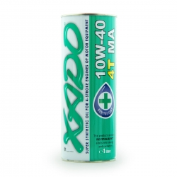 Олива 10W-40 4T MA SuperSynthetic XADO Atomic Oil 1 л (XA 20132)