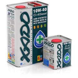 Напівсинтетична моторна олива 10W-40 CI-4 Diesel XADO Atomic Oil