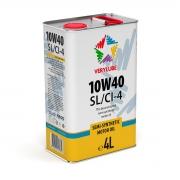 Полусинтетическое масло 10W-40 SL/CI-4 Verylube