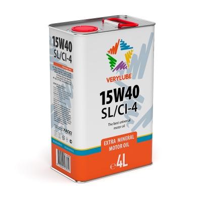 Мінеральна олива 15W-40 SL/CI-4 Verylube