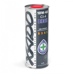Напівсинтетична моторна олива 10W-40 CI-4 Diesel XADO Atomic Oil 1 л (ХА 24149)
