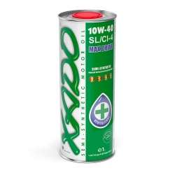 Напівсинтетична олива 10W-40 SL / CI-4 XADO Atomic Oil 1 л (ХА 24109)
