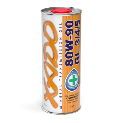 Трансмісійна олива 80W-90 GL 3/4/5 XADO Atomic Oil