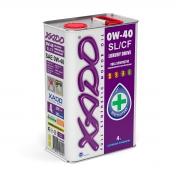 Синтетическое масло 0W-40 SL/CF XADO Atomic Oil