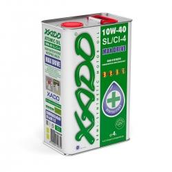 Напівсинтетична олива 10W-40 SL / CI-4 XADO Atomic Oil 4 л (XA 20209)