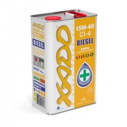 Минеральное масло 15W-40 CI-4 Diesel XADO Atomic Oil  4 л (XA 20214)