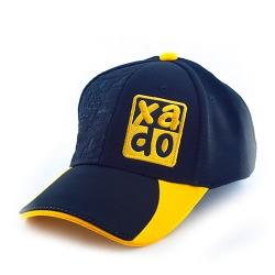 Бейсболка XADO (чорна з жовтим) черный (РП 10062)