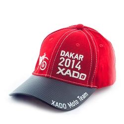 Бейсболка XADO Moto Team красный (РП 10065)