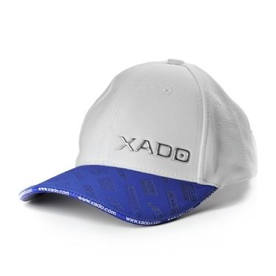 Бейсболка XADO (біла із синімм)
