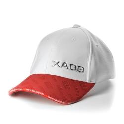Бейсболка XADO (біла з червоним) красный (РС00000030)