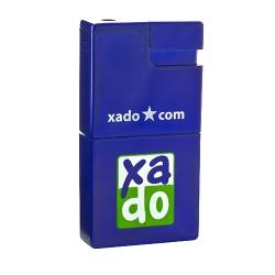 Запальничка-попільничка «XADO» з пластиковим корпусом синий (РП 10012)