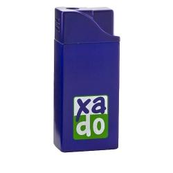 Фірмова запальничка з логотипом «XADO», 53х22х12 мм синий (РП 10019)