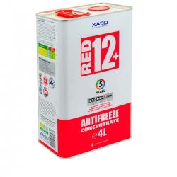 Концентрат антифризу для двигуна Antifreeze Red 12+ 4 л (XA 50301)