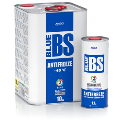 Антифриз для двигуна Antifreeze Blue BS -40⁰С