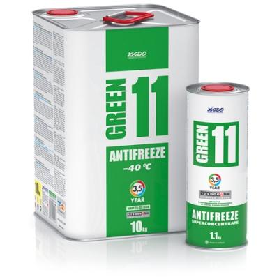 Антифриз для двигуна Antifreeze Green 11 -40⁰С