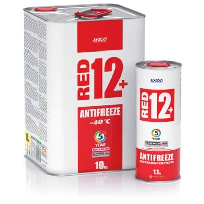 Антифриз для двигуна Antifreeze Red 12+ -40⁰С