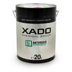 Концентрат антифризу для двигуна Antifreeze Green 11 20 л (XA 58504)