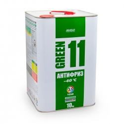 Антифриз для двигуна Antifreeze Green 11 -40⁰С 10 кг (XA 50406_)