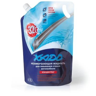 Рідина для омивання скла автомобіля XADO -32 ⁰С