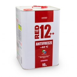 Антифриз для двигуна Antifreeze Red 12++ -40⁰С 10 л (XA 50409)